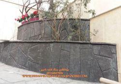 خشکه چینی سنگ لاشه-برای نما ب سنگ لاشه 09124867802 اجرت نصب سنگ لاشه پرتی برای دیوار و نما گروه سنگ کاری نادری با همراه مصالح