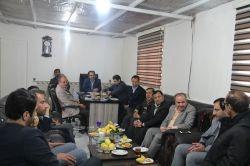 معاون استاندار و فرماندار ویژه شهرستان ملایر در جلسه بررسی مشکلات مساکن مهر در حال ساخت
