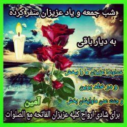 خداوند ارواح اموات همه را بیامرزه و قرین رحمت خودش قرار بده ان شأالله ، به برکت صلوات بر محمد (ص) و آل محمد