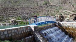 زحمات آبخیزداری اراک در خلق مکانهای زیبا در دره های گردو اراک