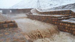 ایام عید امسال خداوند ایران را سیراب کرد اینجا میدان کوهنورد اراک است