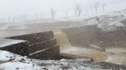 یادی کنیم از باران ها و برف های بهاری  در منطقه گردشگری گردو اراک در ایام عید سال 98