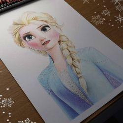 سرمای خفته 2 - نقاشی السا