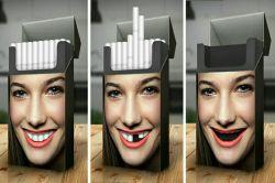 تبلیغ خلاقلانه علیه سیگار روی پاکت سیگار  موضوع: #سیگار_و_دخانیات _________ @sangarnarm