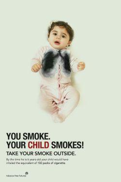 شما سیگار میکِشید  کودک شما هم میکِشد! بیرون از خانه سیگار بکشید  موضوع: #سیگار_و_دخانیات _________ @sangarnarm