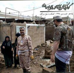 سعید عابد راننده اسنپ معروف، چندی قبل در حال کمک به مردم سیل زده پل دختر در استان لرستان