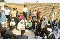 امام جمعه اهواز در مناطق سیلزده