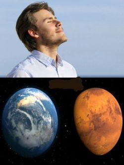 وقتی قدر نفس کشیدن را نمیدانیم !  جالبه بدونید انسان روی مریخ باید بیش از ۱۴ هزار بار نفس بکشد تا به اندازه یک بار نفس کشیدن در زمین اکسیژن بگیرد