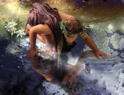 اختلال خودشیفتگی یا نارسیسیسم از نارسیس، جوانی یونانی الهامگرفته شده که به زیبایی مشهور بود.   او روزی تصویر خود را در آب دید و عاشق خودش شد برای اینکه به وصال خودش برسد داخل آب رفت و غرق شد !