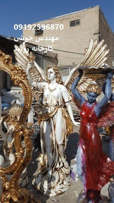 مجسمه فایبرگلاس برای دکور محوطه و دکور نمای ساختمان استفاده از مجسمه های شبیه سنگ با دوام و سبک و بی خطر از نطر اینکه روی ساختمان قرار می گیرد .