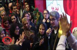 قرعه کشی ویژه کریسمس در فروشگاه های زنجیره ای افق کوروش با اجرای میلاد حسن زاده و نیلوفر نگهبان همراه با اجرای موسیقی زنده