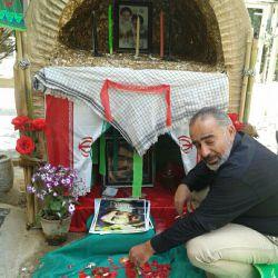 پدر شهید علی خلیلی عکاس:خودم