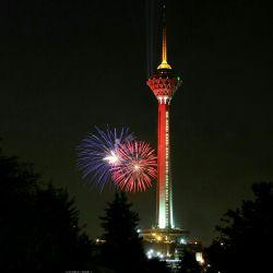 برج میلاد واقع در ایران - تهران
