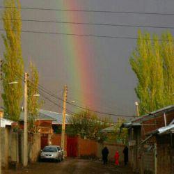 نظرتون درباره این عکسم چیه من خودم خیلی دوست دارم  روستایی در اردبیل