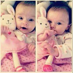دختر ناز کوچولو :)