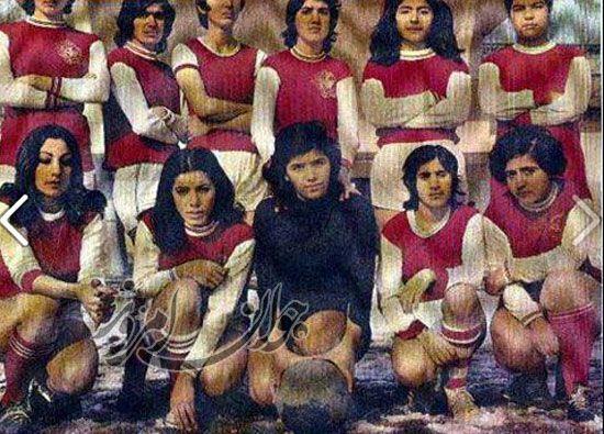 تیم دخترای پرسپولیس