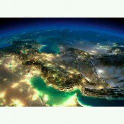 تصویر ایران سرافراز از فضا