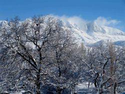 زمستان روستای گوغر کرمان