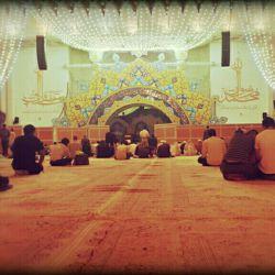 آماده سازی حرم مطهر برای ماه مبارک رمضان..... هر شب ساعت 23:30 مراسم مناجات