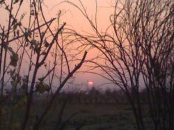 #hamrah1 غروب آفتاب گچساران