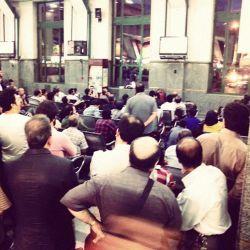 جام جهانی ۲۰۱۴ | بازی ایران - بوسنی | ایستگاه راه آهن تهران