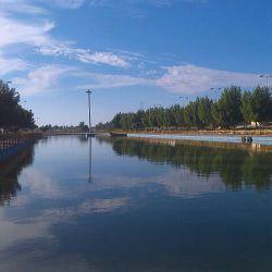 دریاچه مصنوعی پارک ساحلی سردشت زیدون