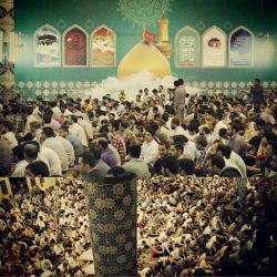 شب اول ماه مبارک رمضان  مسجد ارک