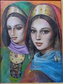 لطفا به آلبوم دوست خوبمون کتایون بهشت هم سر بزنید    @katayoun1393  #هنری #نقاشی #ترکمن