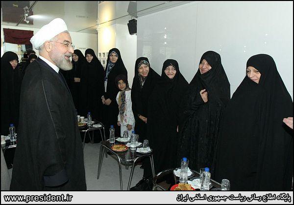 دیدار با خانواده شهید بهشتی