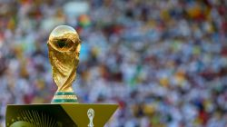 The World Cup is presented prior to the 2014 FIFA World Cup Brazil Final match  بالاخره ..