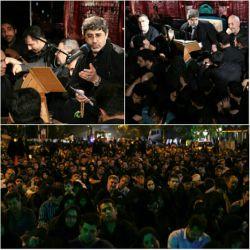 شب نوزدهم ماه رمضان حسینیه ی پیروان و خیابان های اطراف   حاج محمدرضا طاهری  کربلایی حسین طاهری