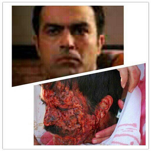 علیرضا جلالی تبار عزیز در فیلم توکل طراح گریم: حسین یزدی