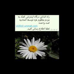 راه اندازی درگاه اینترنتی کمک به مردم مظلوم غزه توسط اتحادیه امت واحده Unified-ummah.com لطفا اطلاع رسانی کنید.