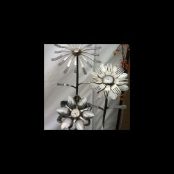 گل قاشق وچنگالی  #طراحی