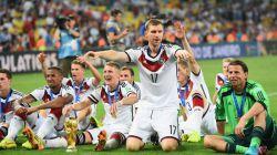 جشن قهرمانی تیم ملی فوتبال آلمان در جام جهانی 2014 برزیل