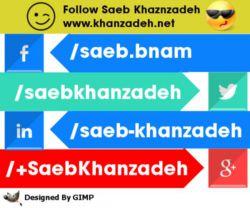 من در شبکه های اجتماعی خارجی
