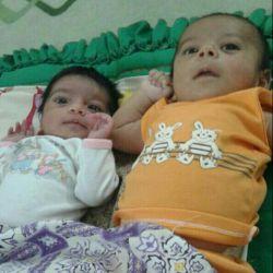 یاسمین با پسر عموش محمد رسول