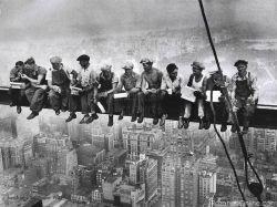 کارگرهای ساختمانی امپایر استیت.نیویورک