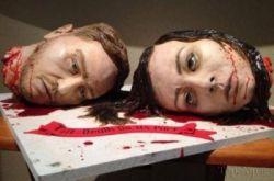ترسناک ترین کیک دنیا