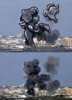 هیس...همه خوابند....کودکان غزه جان ندارند