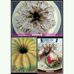 کیک دستپخت مینو  ؛)