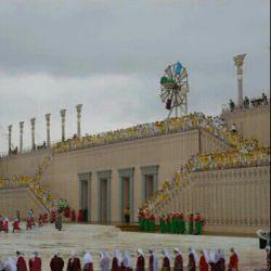 شهر پارسه (تخت جمشید)  قبل از تخریب