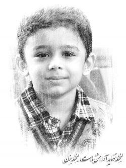 یادگاری از یه عزیز...یادمون که نرفته ... آقا مصطفی  احمدی رو شن ... اونی که عاشق آقامون بود ... پسر کوچولوش هنوزم که هنوزه ... شاید بغض بکنه برا باباش ... دلتنگش بشه ....