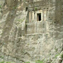 آرامگاه آریو برزن در شهرستان ممسنی فارس
