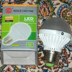 نسل جدید لامپ های فوق کم مصرف...نوردهی ۳ وات معادل ۳۰ وات...قیمت ۱۳ هزار تومان...سفارش از طریق سایت یا ارتباط توسط وایبر با شماره ۰۹۱۳۱۶۶۸۳۷۰