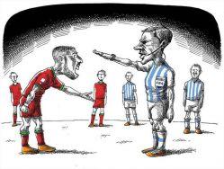 بازی ایران آرژانتین هر کی موافقه لایک کنه
