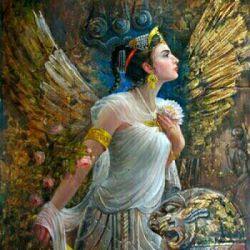یوتاب خواهر آریو برزن بزرگ سردار ایرانی که در دفاع از میهن در برابر سپاه اسکندر همراه برادرش کشته شد