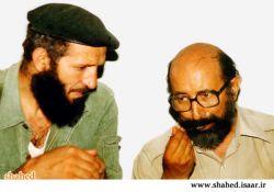 سید مجتبی هاشمی در كنار شهید چمران