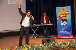 تقلیدصدا و اجرای طنز در مراسم جشن انقلاب پست بانک