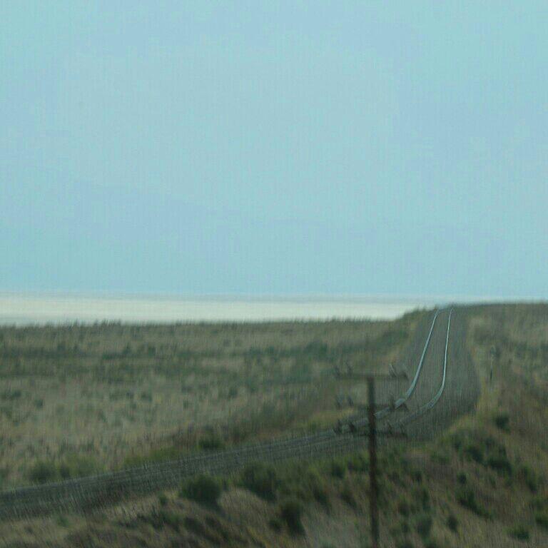 خط آهن ایران ترکیه، در کنار #دریاچه ی #ارومیه